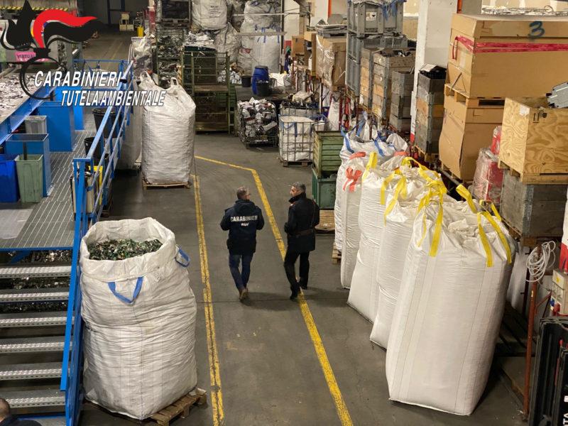 Operazione Black Sun, traffico illecito di rifiuti su scala internazionale: sequestrato impianto di 4 milioni di euro
