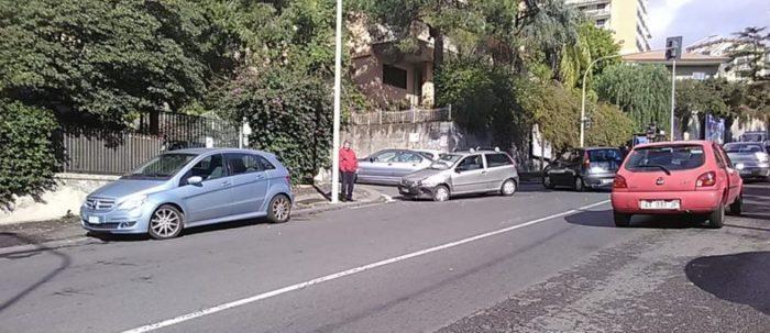 Catania, incidente in zona Tondo Gioeni: traffico in tilt