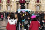 """Il """"Concetto Marchesi"""" si cimenta nell'animazione in strada: oltre 60 studenti in Piazza Duomo a Catania"""