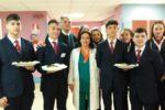 """Mattinata speciale all'ospedale Garibaldi di Nesima per gli alunni dell'Ipsseoa """"Karol Wojtyla"""" di Catania"""