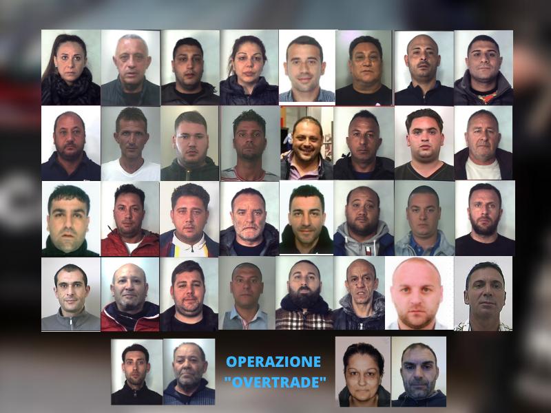 """Operazione """"Overtrade"""", colpo ai Santapaola-Ercolano di Catania: estorsione e intestazione fittizia, 38 arresti – NOMI e FOTO"""