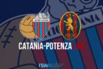 """Catania-Potenza 1-1, inizia la ripresa al """"Massimino"""""""