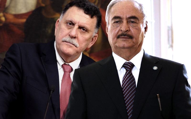 Il premier Al Serraj e il generale Haftar a Roma da Conte, possibile soluzione alla crisi libica