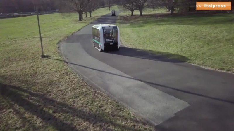 Ecco Olli, minibus elettrico senza conducente
