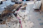 Illuminazione, lavori di manutenzione straordinaria: sostituzione cavi datati e ripristino funzionamento impianti