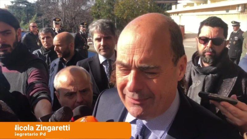 """Gregoretti, Zingaretti """"Salvini non strumentalizzi la giustizia"""""""