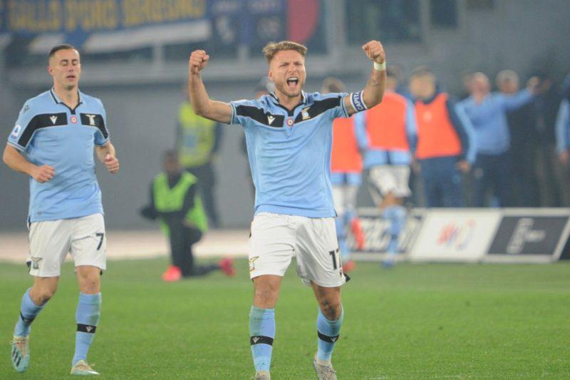 La Lazio batte l'Inter 2-1 in rimonta con Immobile e Milinkovic