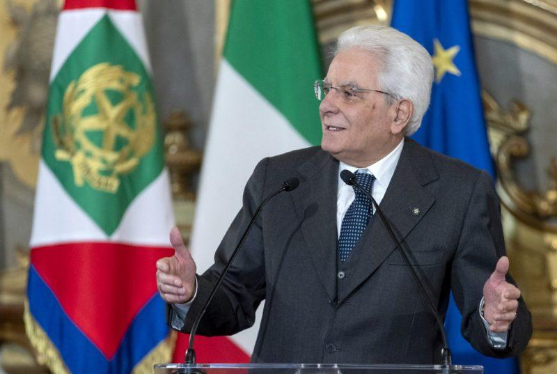 """Mattarella """"La solidarieta' fa progredire il Paese"""""""