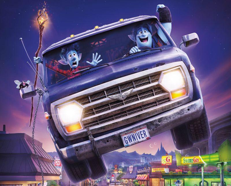 "Ferilli, Volo, Favij doppiatori per il cartoon Disney-Pixar ""Onward"""