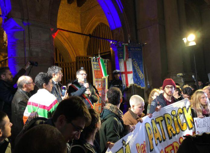 Migliaia in corteo per la liberta' di Zaky a Bologna