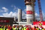 Conclusa l'ultima delle pile che sosterranno il nuovo ponte di Genova