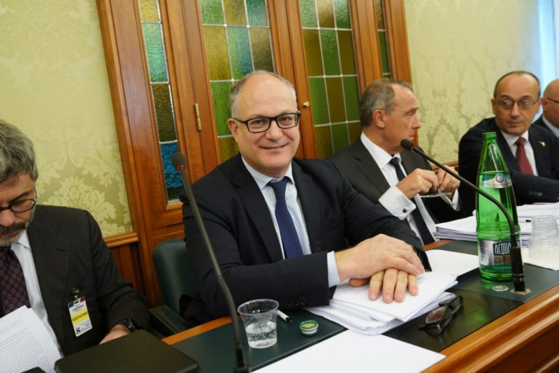 """Gualtieri """"Il Reddito di Cittadinanza va migliorato"""""""