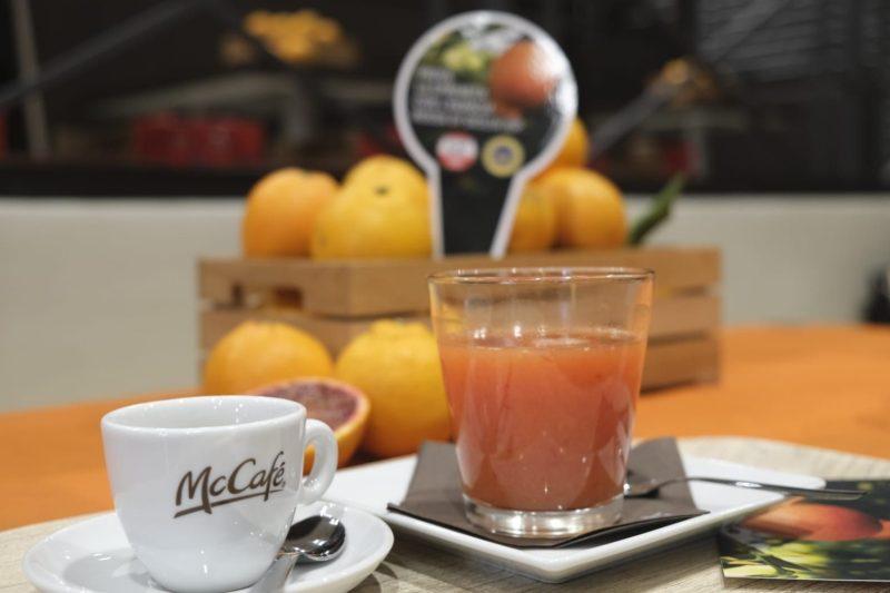 Da McDonald's arrivano le spremute di arancia rossa siciliana