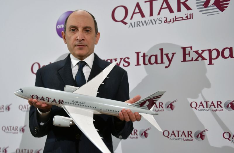 "Air Italy, Qatar Airways ""nessun interesse a investire"""