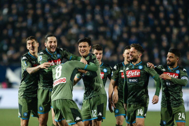 Insigne-Fabian Ruiz, il Napoli ribalta il Brescia