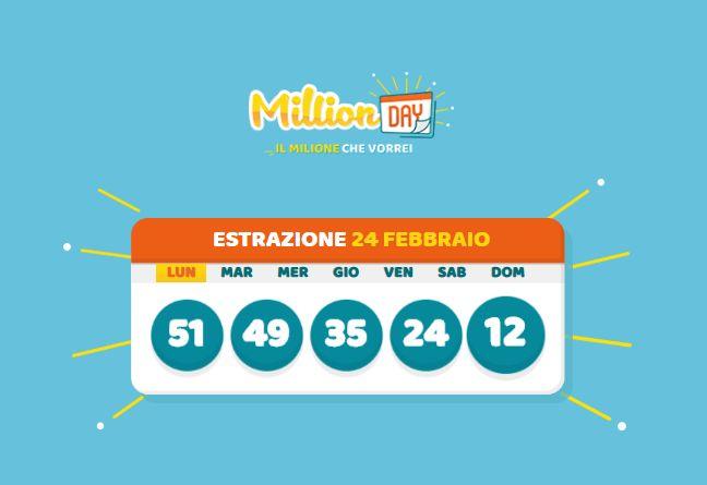 """""""MillionDAY"""" premia la Sicilia, vinto 1 mln di euro a Palermo"""