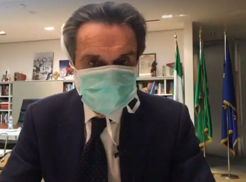 Coronavirus, anche governatore Lombardia in autoisolamento