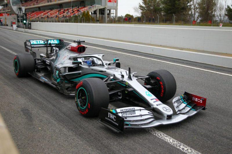 Ultimo giorno di test a Barcellona: comanda Bottas, quarto Leclerc