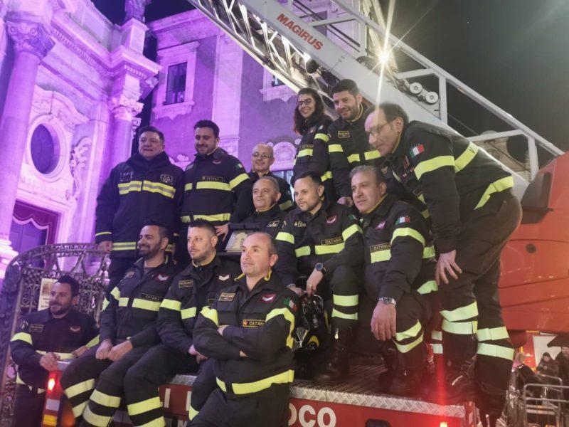 Candelora d'oro 2020 ai vigili del fuoco di Catania: cerimonia a Palazzo degli Elefanti