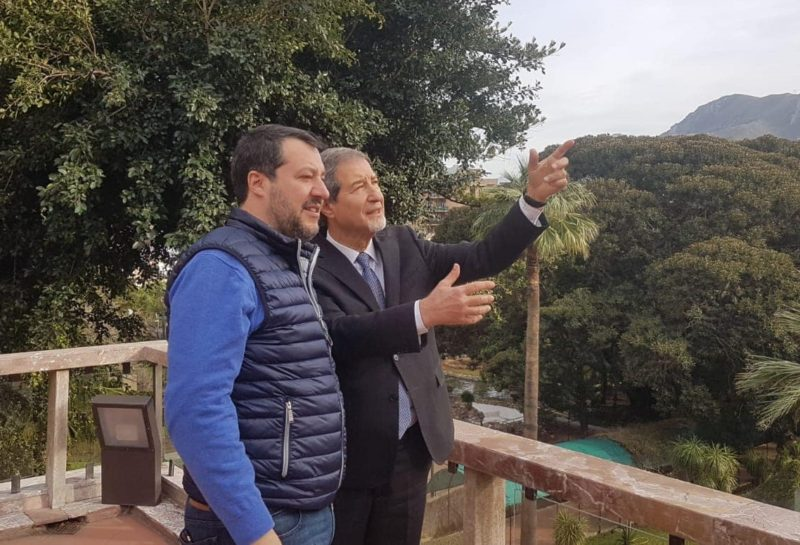"""Via libera del Senato al processo per Salvini, Musumeci: """"La magistratura dimostrerà la sua correttezza"""""""