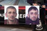 Sorpresi a scassinare saracinesca di una rivendita di bombole di gas nel Catanese: 2 arresti
