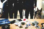 Controllo straordinario del territorio, carabinieri aiutati dal pastore tedesco Mike arrestano due uomini