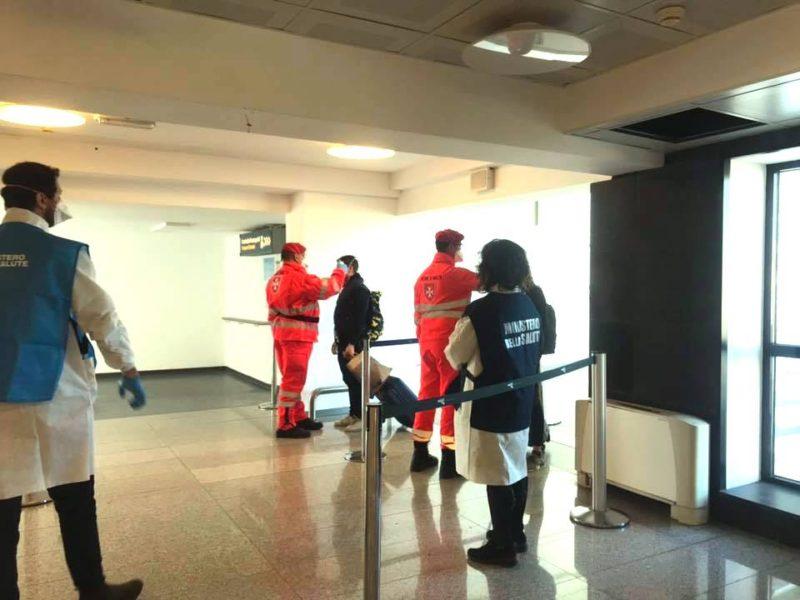 Emergenza coronavirus, all'aeroporto di Catania continuano i controlli: massima attenzione