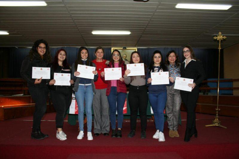 """Cerimonia di consegna certificazione linguistica spagnola DELE agli alunni dell'I.I.S.S. """"C. Gemmellaro"""""""
