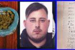 """Catania, droga e """"registro della contabilità"""" dello spaccio in auto: arrestato pusher 22enne"""