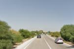 Impatto tra un'auto e un camion sulla SS 115: carabinieri sul posto e blocco alla circolazione