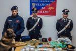Suona il citofono a casa del pusher a San Valentino, ma non è la fidanzata: carabinieri arrestano 44enne