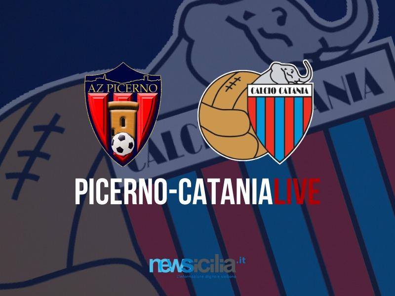 Picerno-Catania 1-2: è finita al Viviani! Rossazzurri vittoriosi – RIVIVI LA CRONACA
