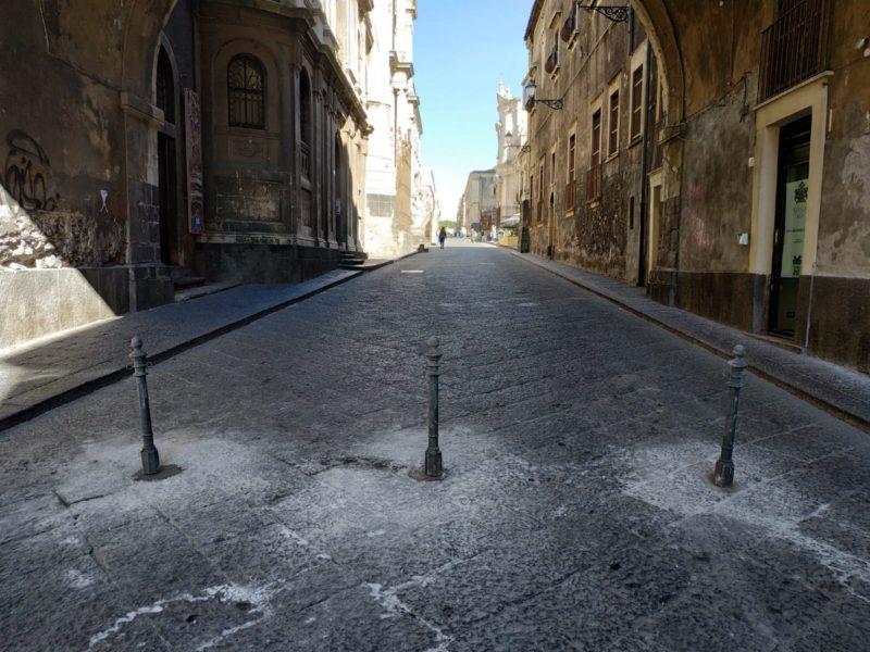 Mobilità a Catania, avviata la prima fase del piano di pedonalizzazione in piazza Duomo e piazza Dante