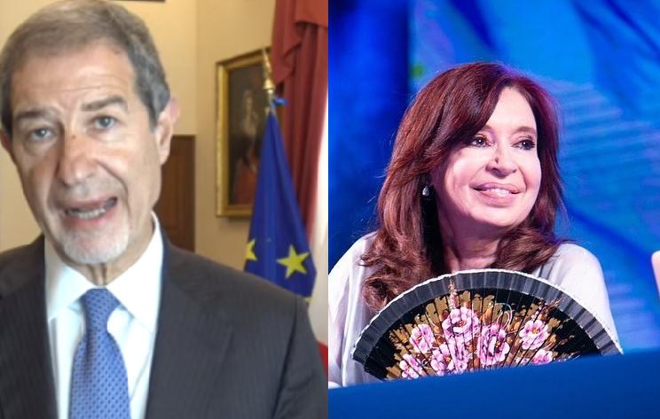 """Kirchner sferra un duro attacco agli italiani """"mafiosi per genetica"""". Nello Musumeci: """"Ci aspettiamo scuse formali"""""""