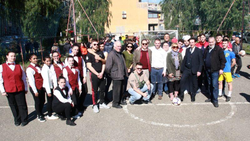 """Catania, riqualificata ex area di spaccio in via Capo Passero. Buceti: """"Il lavoro che abbiamo svolto è stato considerevole"""""""