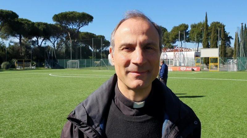 "Mons.Sanchez ""Clericus Cup iniziativa caratteristica"""