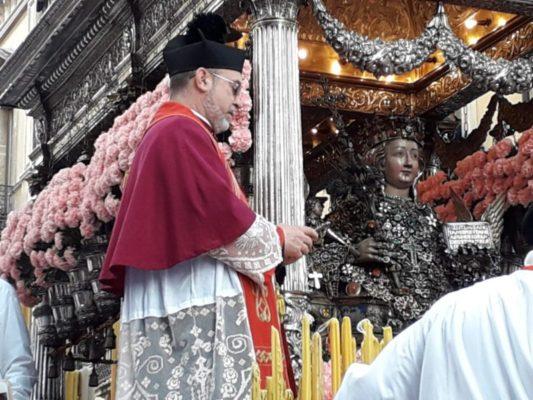 """Salita dei Cappuccini di """"corsa"""" per Sant'Agata, monsignor Gristina: """"Non siamo mai soli o abbandonati"""" – FOTO"""