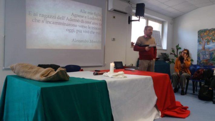 """Incontro con l'autore Alessandro Montalto al """"Marconi"""" di Paternò"""