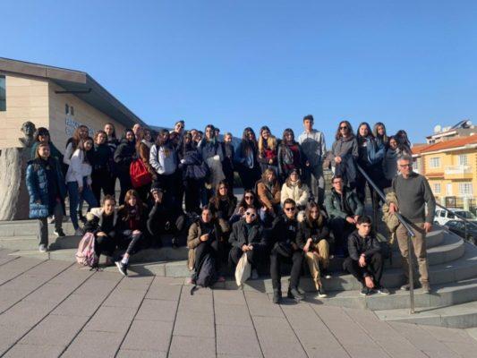 """Conclusa con successo la prima mobilità di un nuovo progetto Erasmus Plus in lingua francese per gli alunni dell'IPSSEOA """"K. Wojtyla"""" di Catania"""