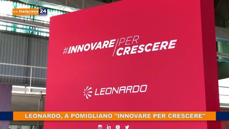 """Leonardo, a Pomigliano """"Innovare per Crescere"""""""