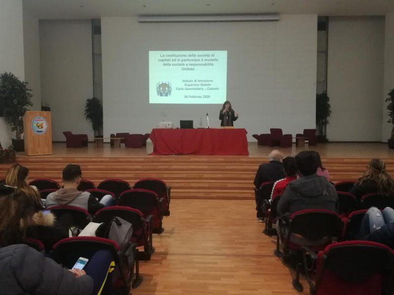 L'Istituto Carlo Gemmellaro di Catania coinvolge la figura del Notaio