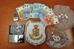 Soldi, cocaina e bilancini di precisione: arrestato per spaccio Giuliano Sandro