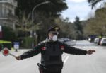 Discoteca a cielo aperto al piazzale dell'ex eliporto: multati 2 giovani beccati fuori dal Comune di residenza