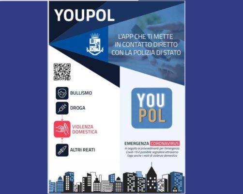 YouPol, nuovo aggiornamento per l'app della Polizia di Stato per segnalare reati di violenza domestica