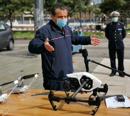 """Messina, arriva la circolare ministeriale: via libera ai droni. De Luca: """"Battaglia vinta"""""""
