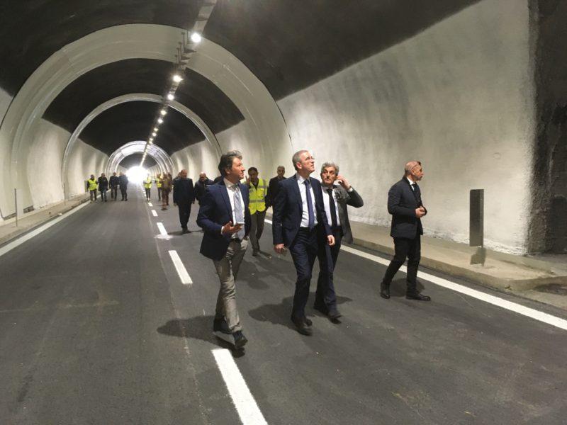 """Autostrada A18 Messina-Catania, riaperta la galleria Giardini. Falcone: """"Ora è ammodernata e sicura"""""""
