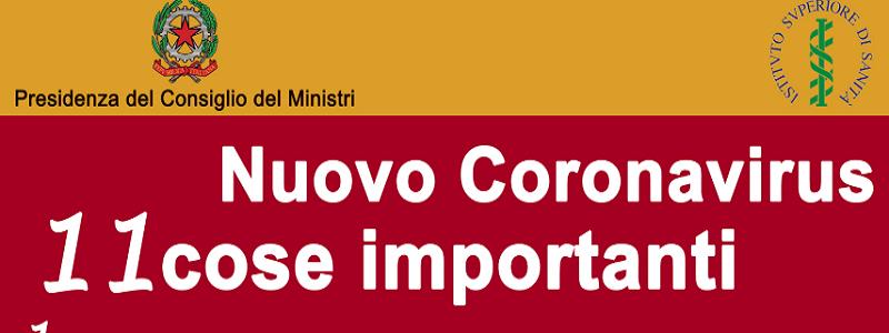 """Coronavirus, il Vademecum aggiornato dalla Protezione Civile: 11 consigli e tante """"novità"""""""