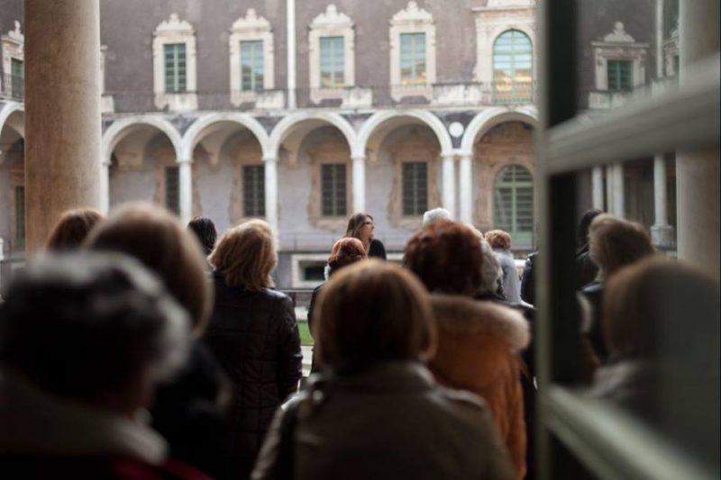 Emergenza Coronavirus, a Catania cambiano le regole sulle visite guidate: coinvolto il Monastero dei Benedettini