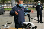 """Messina, Cateno De Luca """"testa"""" i droni e attende l'ok di Gabrielli: """"In attesa di poterli usare, noi andiamo avanti"""""""