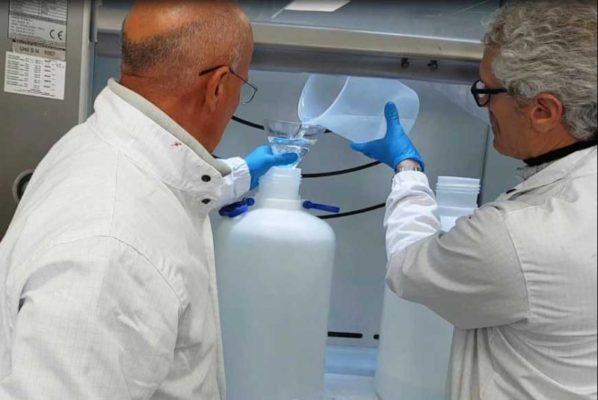L'Università di Catania produrrà gel alcolico disinfettante per tutta l'Isola